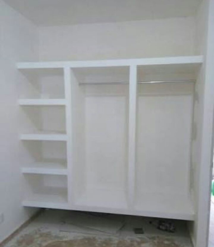 Tablaroca aranda for Closet de concreto para cuartos